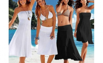 26% OFF on 4 in 1 Beach Dress for Women
