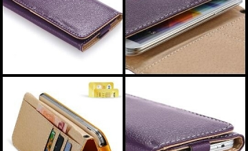 2 in 1 Leather Wallet + Pouch available in Excellent Colors